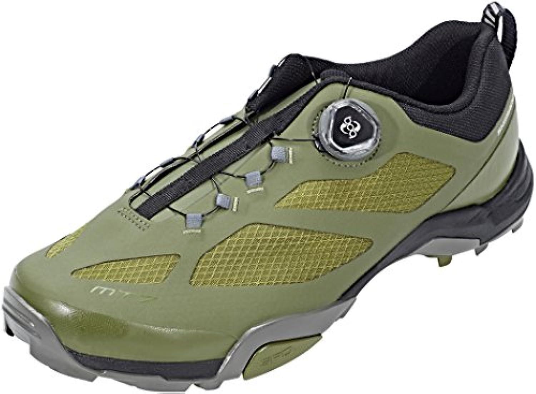 Shimano SHMT7PC460SO00 - Zapatillas ciclismo, 46, Verde, Hombre