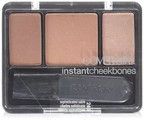 CoverGirl Instant Cheekbones Contouring Blush, Sophisticated Sable .29 oz (8 g) by COVERGIRL