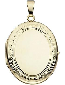 JOBO Medaillon 585 Gold Gelbgold