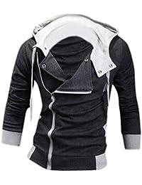 jeansian Casuale Sport Uomo Inverno Moda Giacca Uomini Tendenza Cappotto Design Sottile Capispalla 8945