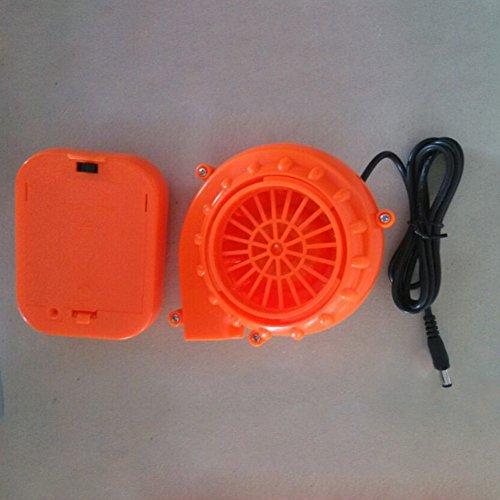 Aufblasbares Kostüm Fan - Mini Air Fan Geblä für aufblasbare Maskottchen Kühler Kostüm Wear/Battery Pack