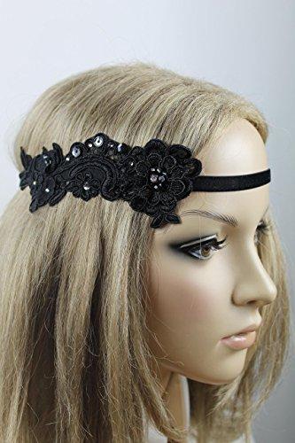 (Haarschmuck Haarband Vintage 20er Jahre Flapper Stirnband Kopfschmuck)