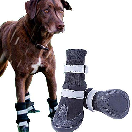 Big Dog Sport Schuhe Winter, wasserdicht haustier hund Stiefel für Pitbull Golden Retriever ()