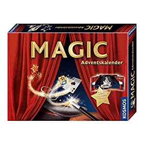 51i568iwa2L. SS300  - KOSMOS 698867 - MAGIC Zauber Adventskalender, Spannende Zaubertricks und Zauber-Utensilien für die Adventszeit, Spielzeug Adventskalender zum Zaubern für Mädchen und Jungen ab 8 Jahren