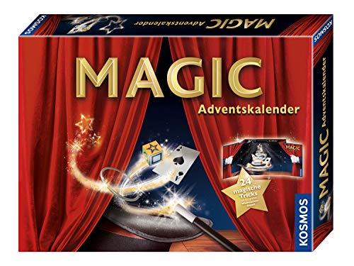 51i568iwa2L - KOSMOS 698867 - MAGIC Zauber Adventskalender, Spannende Zaubertricks und Zauber-Utensilien für die Adventszeit, Spielzeug Adventskalender zum Zaubern für Mädchen und Jungen ab 8 Jahren