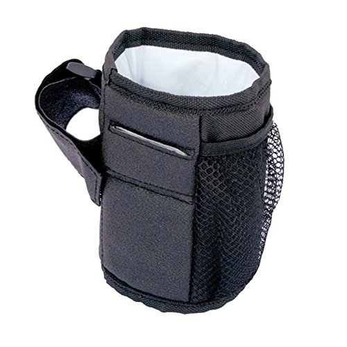 AOLVO Buggy Cup Stuff-Halterung, Keep Warm passend für die meisten Kinderwagen, Rollstühle, Rollatoren, Wanderer, Fahrräder, perfekt für Baby Flaschen & Kleinere Tassen