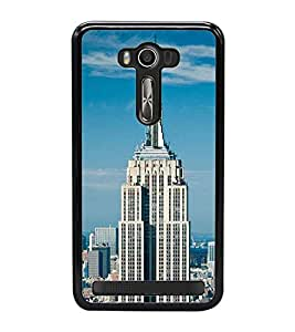 Fuson Designer Back Case Cover for Asus Zenfone 2 Laser ZE550KL (5.5 Inches) (highted house home stay tower hotel)