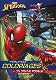 Marvel - Ultimate Spider-Man - Mon livre de coloriages + un grand poster...