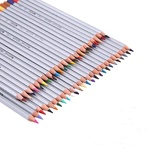 laconile Art Zeichnen 48Buntstifte Aquarell Bleistifte ungiftig für Künstler Skizzieren Zeichnen...