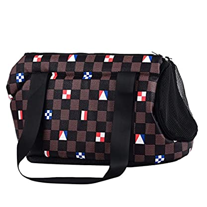 FORET TERRAIN Hand Bag or Shoulder Bag for transporting small dogs or cats petits L 2