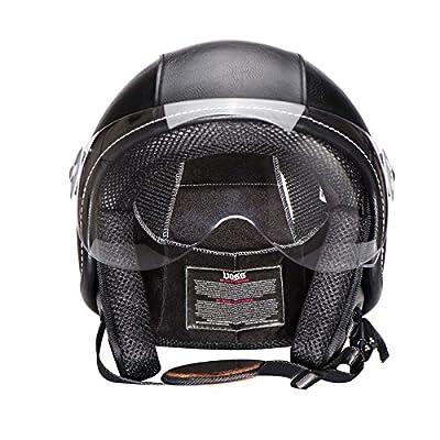 CTao Helmet Season Fashion Harley Helmet Men And Women Retro Motorcycle Sunscreen Helmet Half Helmet from CTao