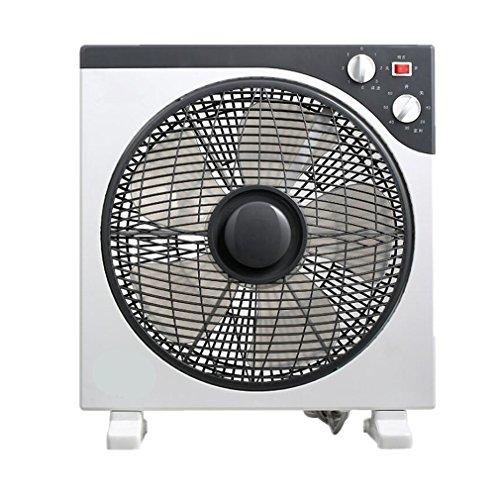 NWYJR Fan High Velocity Einstellbare Einstellbare Lüfterhaushalt Silent Desktop Nachttisch Lüfter Elektrische Lüfter 12 Zoll