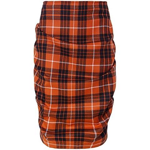 Vivienne Westwood Anglomania Mini falda de tartán de abdomen McBrick