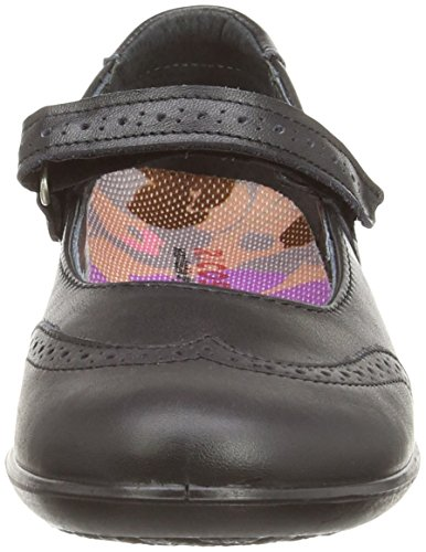 Ricosta Becky M, Mary Janes Fille Multicolore (Schwarz)