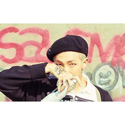 BTS Jin J-Hope Rm V Solo-Poster-Puzzle, Bighit Entertainment Korean Idol Holzpuzzle 500, 1000 Teile,C,500PCS -