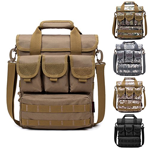 Fastar Outdoor Sport Casual Schultertasche Handtaschen Herren Messenger Cross Body Bag Casual Outdoor Camping Wandern Trekking Tasche D:desert Digital