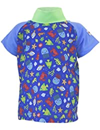 Baby UV-Shirt Blue Beach : 74/80