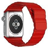 Apple Watch Strap, JETech 38mm Echtes Leder-Schleife mit Magnet-Verschluss...