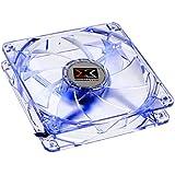 Xigmatek CLF-FR1251 Crystal LED Lüfter, blau - 120mm