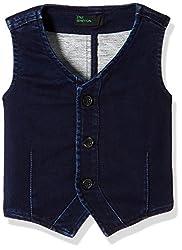 United Colors of Benetton Boys Coat (16A2JACK0005I901XX_Dark Blue)