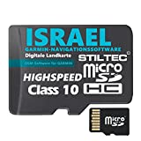 ?Israel Garmin Topo GPS Karte GB microSD Card Garmin Navi, PC & MAC Garmin Navigationsger�te Navigationssoftware ? ORIGINAL von STILTEC � Bild