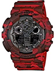 CASIO Herren-Armbanduhr Analog - Digital Quarz Resin GA100CM-4AER