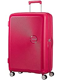 AMERICAN TOURISTER Soundbox - Spinner 77/28 Expandable Equipaje de mano, 77 cm, 97 liters, Rosa (Lightning Pink)