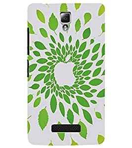 LENNOVO A2010 LEAFS ILLUSSION Designer Back Cover Case By PRINTSWAG