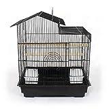 Pet's Solution Gabbia Uccelli, canarini, bengalini, cocorite esotici. Mis EST. 48x38x55 cm