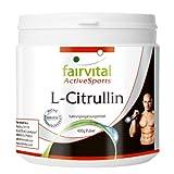 L-Citrullin zur Unterstützung des Trainings Monatspackung 400 g reines Pulver (vegetarisch, ohne Zusatzstoffe)