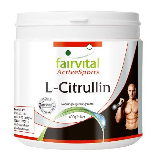 #L-Citrullin zur Unterstützung des Trainings Monatspackung 400 g reines Pulver (vegetarisch, ohne Zusatzstoffe)#