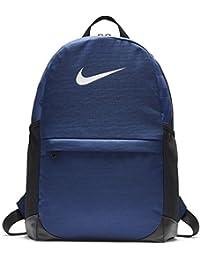 Nike NK brsla BKPK, mochila niño, niño, Nk Brsla Bkpk, Binary Blue
