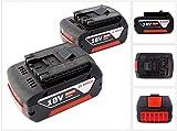 Bosch Professional 0615990G6Z Akku-Pack 2Stk. 18V 5,0Ah Li-Ion Bosch, 18 V