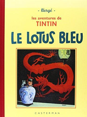 Les Aventures de Tintin : Le Lotus bleu : Edition fac-simil?? en noir et blanc by Herg?? (1993-05-04)