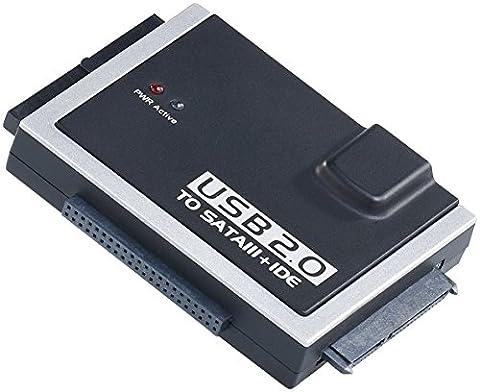 Xystec Universal-Festplatten-Adapter IDE/SATA auf USB 2.0