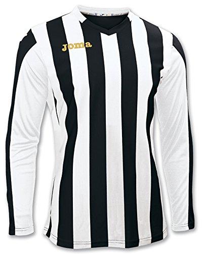 Joma Langarm Trikot O 100002.100 Herren, Mehrfarbig-(Negro-Blanco), XL