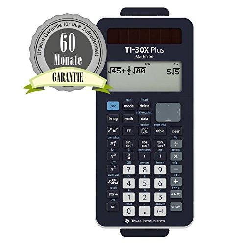 TI-30 X Plus MathPrint Bundle (ohne Tasche, Rechner+Garantie)