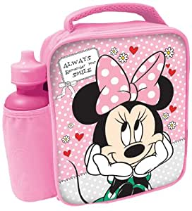 Spearmark Minnie Mouse Bag and Bottle Combo
