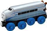 Fisher-Price Mattel DTB89 - Große Holz-Lokomotive Hugo, Vorschul- Spielwelten
