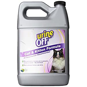 Urine Off-Geruch- und Fleckenentferner für Katzen, 1Liter