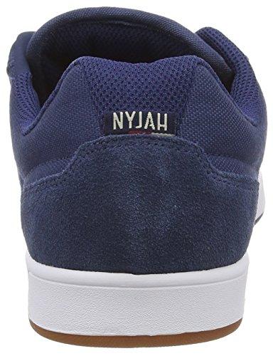 DC Shoes Nyjah M Shoe Nc2, Baskets Basses Homme Bleu (navy/camel Nc2)