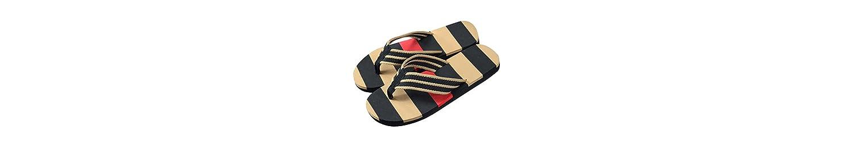 ZARLLE Chanclas De Hombre Stripe Playa Zapatilla Verano Moda Antideslizante Casual Sandalias Zapatos para Hombre... -