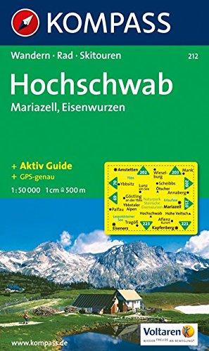 212: Hochschwab - Mariazell 1:35, 000 par Maria Wiesmnller