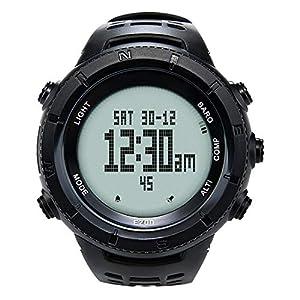 EZON Militär-Armbanduhr für Herren, taktische Uhren mit Höhenmesser, Barometer, Kompass, Thermometer, wasserdicht H001