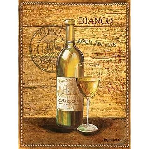 Feeling at home, Stampa artistica x cornice - quadro, fine art print, Invecchiato in Oak II cm 102x76