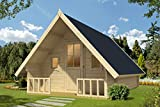 Alpholz Campinghouse 44 ISO, 44 mm Wandstärke (328 x 508 cm)