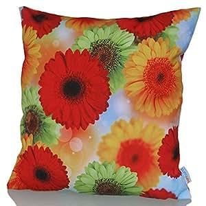 Sunburst Outdoor Living 60cm x 60cm BRAVO Federa decorativa per cuscini per divano, letto, sofà o da esterni - Solo federa, no interno