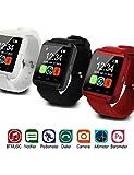 blutooh Reloj Inteligente llamada respuesta (Soporte de auriculares, los medios de comunicación recuerdan) inteligente Smart Watch