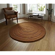 Teppich rund braun  Suchergebnis auf Amazon.de für: Teppich Wolle Rund