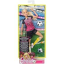 Barbie - Muñeca futbolista movimiento sin límites (Mattel DVF69)